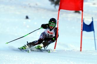 Der Nachwuchs auf Skiern
